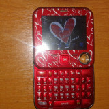Vand telefon mobil Anycool capriciu sim dual rosu italia, Nu se aplica, Neblocat, Dual SIM, Single core