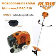 Motocositoare/Motocoasa - Motocoasa Ruris DAC 310 2, 5 CP cu ham si accesorii incluse