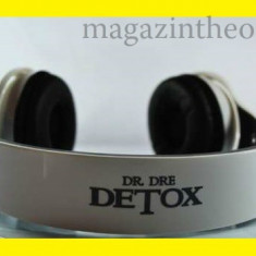 Casti Monster Beats by Dr Dre DETOX Culoare - Alba, Cu fir, Jack 3, 5mm