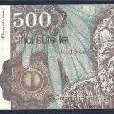 ROMANIA 500 LEI 1991 Ianuarie [1] XF++ a UNC, An: 1991