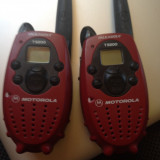 Statie radio - Motorola TalkAbout T5200 AA 2-Mile 14-Channel FRS Two-Way Radio (Pair)