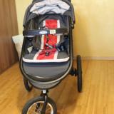 Carucior copii 2 in 1 Graco, Altele, Pliabil, Altele - Carut+scaun auto Graco-Fold Jogger XT Click Connect™ Travel System