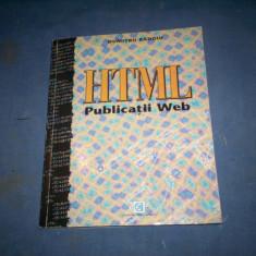 HTML PUBLICATII WEB - Carte despre internet
