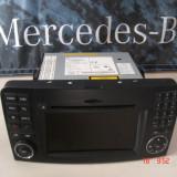 Mercedes M Class ML W164, 2010-2013, Navigatie - A1649002301