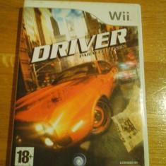 Jocuri WII Ubisoft, Curse auto-moto, 18+, Single player - JOC WII DRIVER PARALLEL LINES ORIGINAL PAL / by DARK WADDER