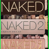 Trusa make up - Set 3 truse make-up Profesionale NAKED Urban Decay nr 2/3/5 12 culori