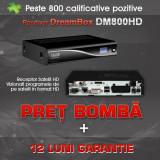 Dreambox DM800 HD Sim 2.10 SSL 84D ALPS M + Stick WIFI Optional 12Luni Garantie!