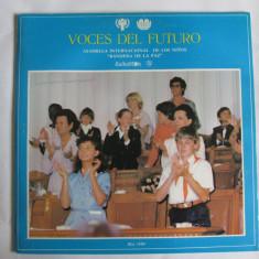 RAR! VINIL L.P. VOCES DEL FUTURO IMPECABIL - Muzica pentru copii electrecord