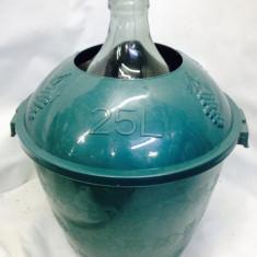 Furtun gradina - Damigeana 25 litri in cos din plastic