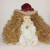 Papusa de portelan - fetita bebelus