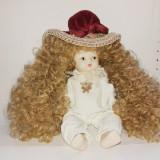 Papusa de portelan - fetita bebelus, Alte materiale, Fata