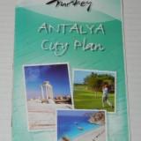 Harta ANTALYA CITY PLAN. TURCIA. 2008 - Harta Turistica