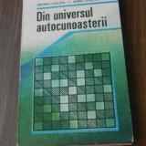 SEPTIMIU CHELCEA, ADINA CHELCEA -DIN UNIVERSUL AUTOCUNOASTERII - Carte Psihologie