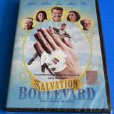DVD FILM comedie SALVATION BOULEVARD / BULEVARDUL SALVARII. NOU. SIGILAT. SUBTITRARE IN LIMBA ROMANA. pierce brosnan, ed harris