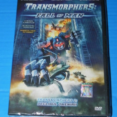 DVD FILM SCIENCE FICTION - TRANSMORPHERS 2 FALL OF MAN / DECLINUL OMENIRII - Film SF, Romana