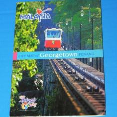 Harta Turistica - MALAEZIA - HARTA ORASULUI GEORGETOWN PENANG 2006 (00671