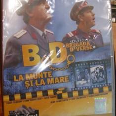 DVD BD la munte si la mare - Film comedie, Romana