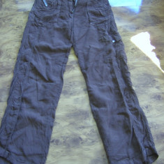 Pantaloni TRUSSARDI 100% in megapret final - Pantaloni dama Trussardi, Marime: 46, Culoare: Maro, Lungi