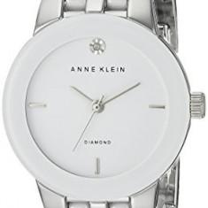 Anne Klein Women's AK 1611WTSV Diamond | 100% original, import SUA, 10 zile lucratoare af22508 - Ceas dama