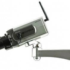 Camera falsa motorizata cu senzor de miscare si motoras, noua, Bullet