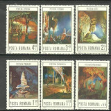 Romania 1978 - PESTERI, serie nestampilata F23 - Timbre Romania, Nestampilat
