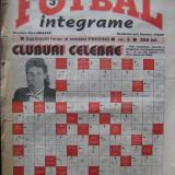 Revista Fotbal integrame nr.3/1995, dir. Nicu Gheara redactor sef D-tru Visan