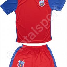 Haine copii, Compleuri - ECHIPAMENT COMPLEU SORT&TRICOU FC STEAUA BUCURESTI PENTRU COPII 4-14 ANI
