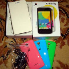 Telefon ALLVIEW A5 Smiley, Alb, Neblocat