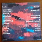 Edouard Lalo - Simfonia Spaniola, Maurice Ravel - Bolero Vinil - Muzica Opera