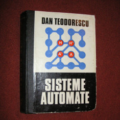 Dan Teodorescu - Sisteme Automate - Carte retelistica