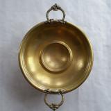 Metal/Fonta - Fructiera alama cu picior - 1930