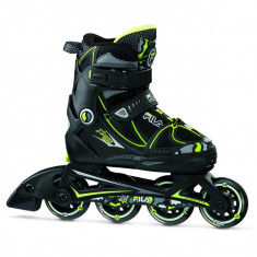 Role copii FILA X-One black/lime
