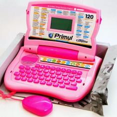 Laptop copii 120 functii romana - engleza, calculator educativ, computer jucarie, Altele, Unisex, Multicolor