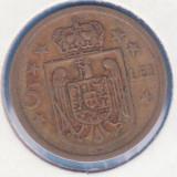 Monede Romania, An: 1930 - (MR34) MONEDA ROMANIA - 5 LEI 1930 H, MIHAI I - REGENTA - SE VINDE IN CARTONAS