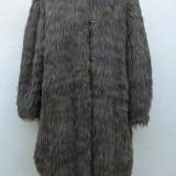 Blanita shaggy din alpaca Giorgio Armani 100% originala - Palton dama Giorgio Armani, Marime: M/L, Culoare: Din imagine, Lana