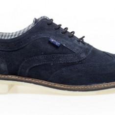 Pantofi barbati, Piele naturala - Pantofi casual piele intoarsa bleumarin Roadsign - noi in cutie - de la Emag
