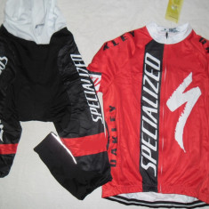 Echipament ciclism complet iarna toamna specialized red 2015 set thermal fleece
