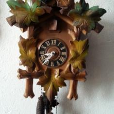 Pendula - Ceas cu cuc din lemn