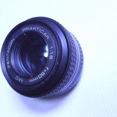 Obiectiv Pentacon MC practicar pentru aparat foto vechi functional