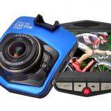 Camera Auto DVR Black Box Novatek C900 1080p FullHD 12MPx Blue RESIGILAT