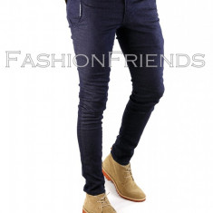 Pantaloni ZARA bleumarin - pantaloni barbati -pantaloni casual- 5755