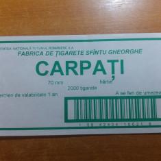 Colectii - Eticheta originala pt bax tigari romanesti