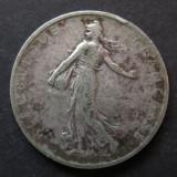Franta - 2 Francs 1898 - Argint, Europa