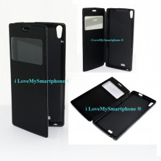 Husa telefon, Piele Ecologica, Husa - HUSA cu inchidere ALLVIEW X2 Soul negru