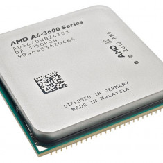 Kit SATA3 4USB 3 QUAD CORE ASRock A75M +AMD Llano Vision A6-3670k 2.7GHz Gaming - Placa de Baza Asrock, Pentru AMD, FM1, DDR 3, Contine procesor, MicroATX
