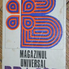 Calendar de buzunar MAGAZINUL UNIVERSAL BRASOV 1976 - Calendar colectie