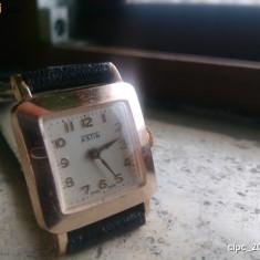 Ceas de mana - Ceas Astin 15 Jewels Mecanic Swiss Made Incabloc Antimagnetic placat cu Aur