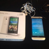 Telefon HTC, Alb, Neblocat, Single SIM - HTC One E8