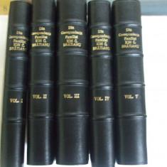 Carte veche - Din corespondenta familiei Ion C. Bratianu 5 volume Bucuresti 1933 - 1935