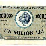 ROMANIA 1 000 000 1000000 LEI 16 APRILIE 1947 STARE AUNC